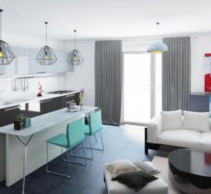 Appartement de type F4 - Les Terrasses du Stiletto photo #747
