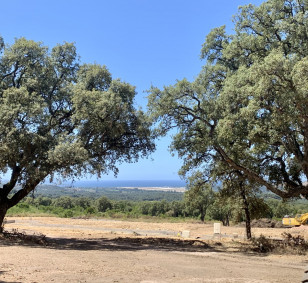 Vente beau terrain vue mer viabilisé à Bastelicaccia photo #3480