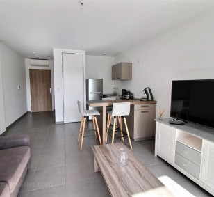 Exclusivité vente appartement F1 neuf rocade d'Ajaccio avec terrasse photo #1411